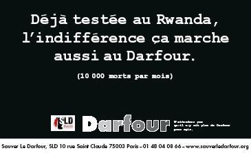 Sauver leDarfour